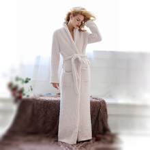 Women and Men Cozy Knit Stretchy Soft Long Robes Full Length Shawl Collar Spa Bathrobe Super Comfortable Sleepwear Lounge wear