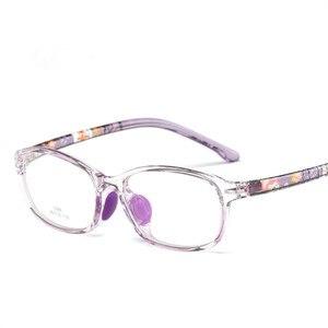 Image 4 - Occhiali per bambini del Ragazzo Della Ragazza Occhiali Da Vista Leggero Telaio Occhiali Per Bambini Occhiali Da Vista cornice Del Silicone di cura del naso 686