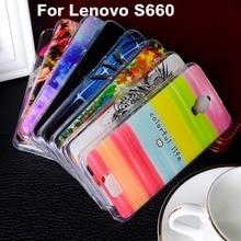 Soft TPU Plastic Phone Case For Lenovo S660 S 660 Case For Lenovo S 660 S668T 4.7 inch Cover Shell Housing