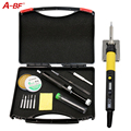 A-BF GS110D 110W 220V Digital LCD 10-in-1 electric Soldering Iron kit Temperature Adjustable,10g solder,3 Soldering Tips