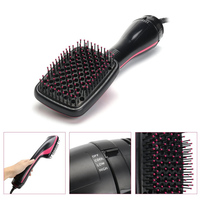 Professional Hair Dryer Brush 2 IN 1 Electric Hair Blow Dryer Brush Hot Air Hair Curls Comb Salon Hair Styler Comb Dropshipping