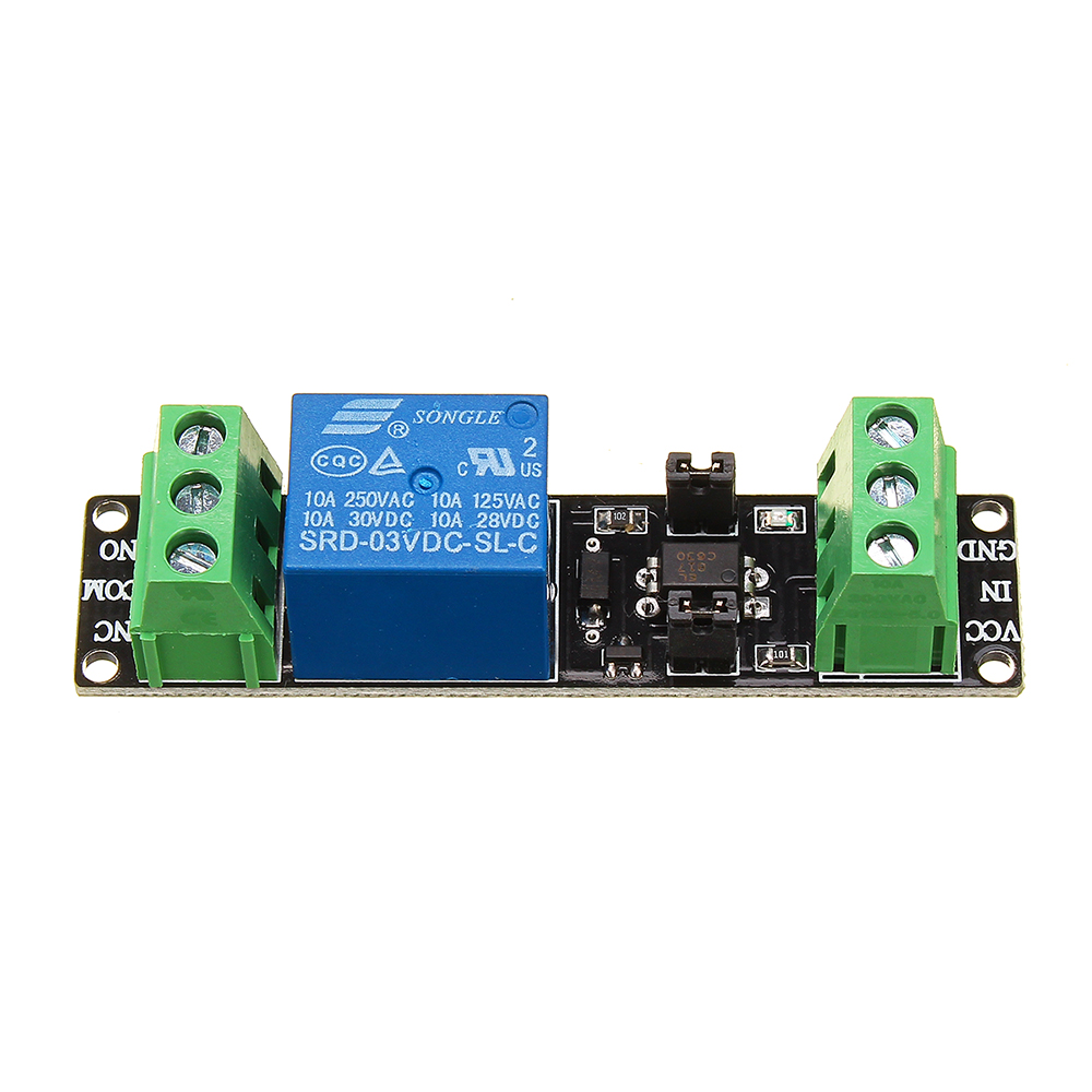 1 Channel DC 3V Relay High Level Driver Module Optocoupler Relay Module Isolated Drive Control Board For Arduino