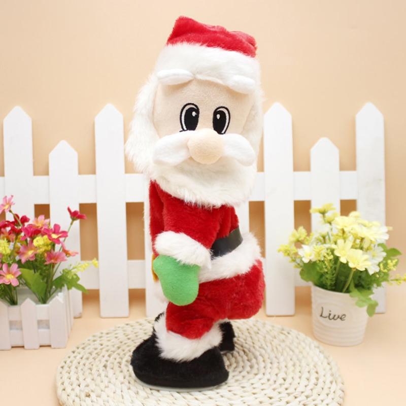 Božični električni glasbeni gugalniki zadnjice Božiček lutka - Prazniki in zabave - Fotografija 1