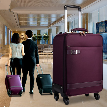 Box Luggage Box Trolley Box female universal wheel luggage bag man canvas suitcase code boarding box CD50