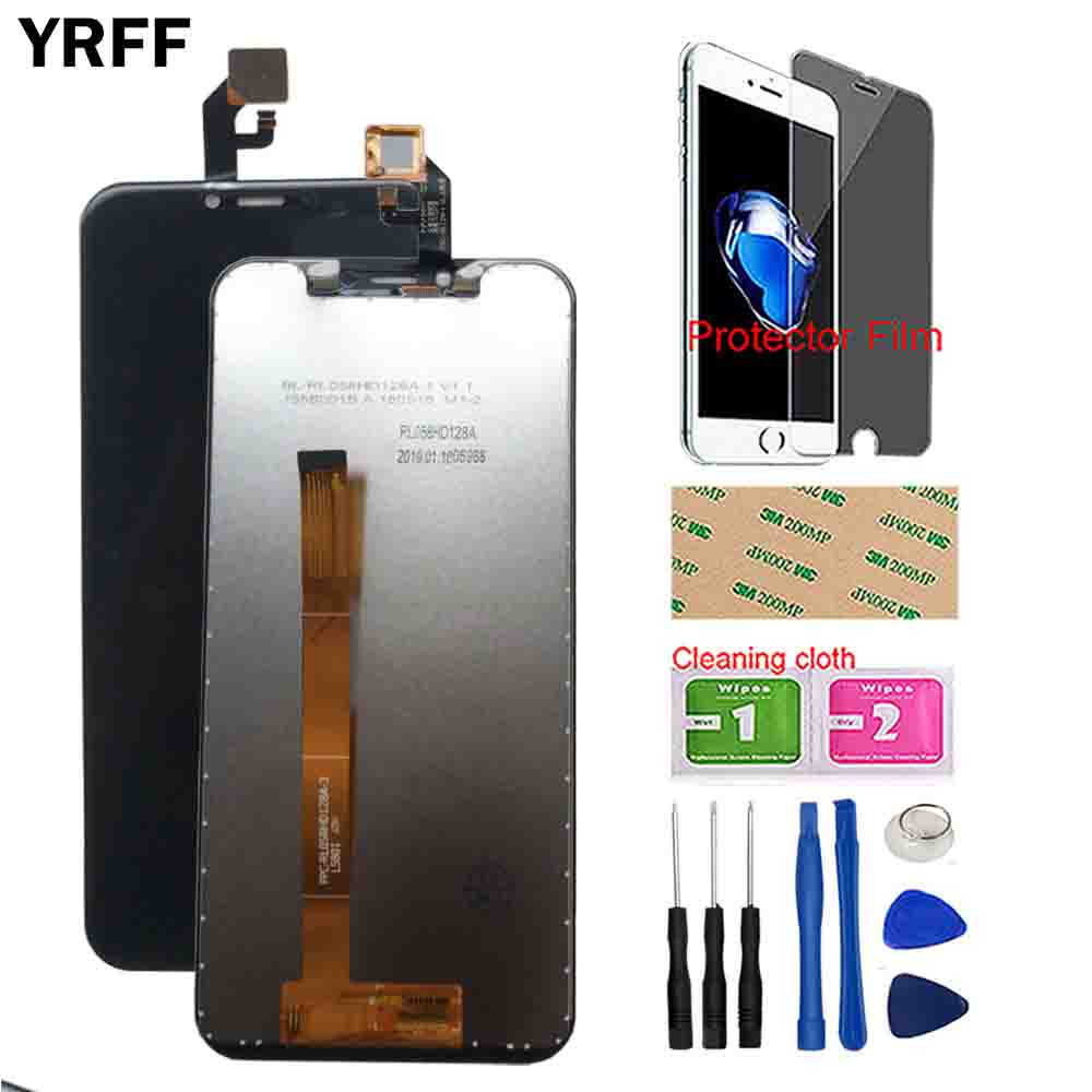 5 85 Original LCD Display For Leagoo S9 LCD Display Touch Screen Digitizer For Leagoo S9