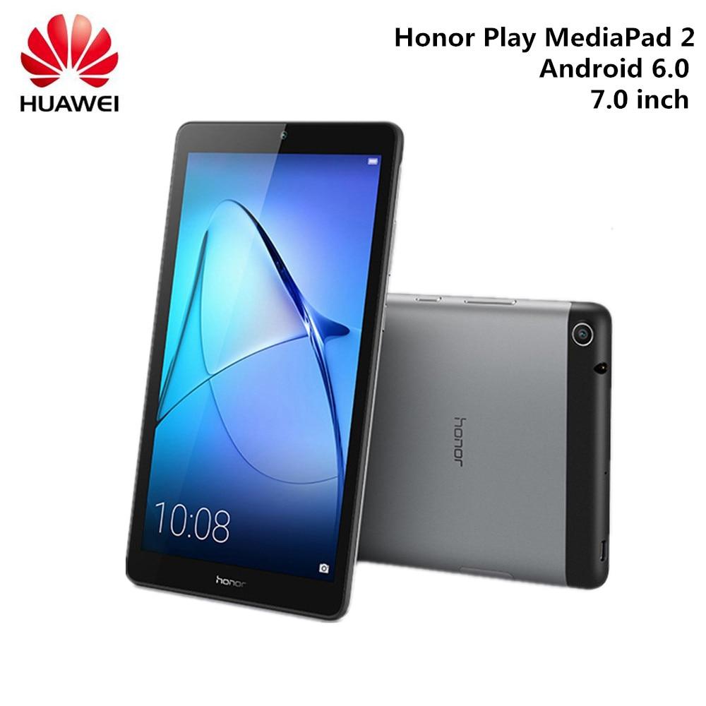 HUAWEI Honor Play MediaPad 2 планшетный ПК 7,0 дюймов Android 6,0 планшеты MTK8127 четырехъядерный Bluetooth 4,2 ноутбук 2 Гб 16 Гб WIFI