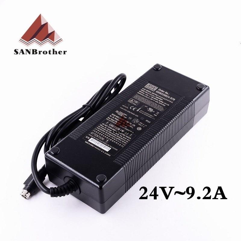 3d prnter電源um2 +拡張ultimaker 2 um3電源3dプリンタ部品24ボルト9.2Aトップ品質。  グループ上の パソコン & オフィス からの 3Dプリンタパーツ & アクセサリ の中 1
