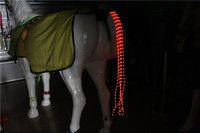 55CM 100CM Horse Tail Lights USB Charging LED Crupper Horse Harness Equestrian Outdoor Sports The Horse