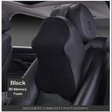 High Quality 3D Space Memory Foam Car Neck font b Pillow b font Head restraint in