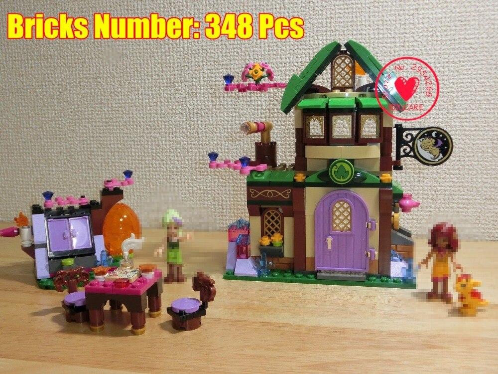 цена Fairy Friends Elves 10502 Starlight Inn Kits 41174 Building Blocks Bricks Girl Toys For Children Compatible legoe Fairy elves