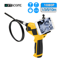 Antscope 1080P HD 8mm Endoscope Camera WIFI Car Endoscope Android Handheld 1/3/5/10M Inspection Camera Snake Hard Endoscopio 30