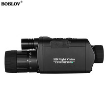 BOBLOV WiFi Night Vision Goggles 3X Monocular Telescope Digital 3.5-10.5 x 32 riflescope