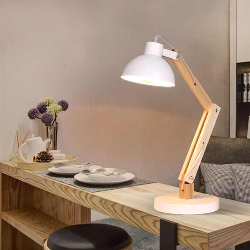 Nortic простой подход создать Творческий lamparas de Меса para el dormitorio для работы и учебы Лампе де чевет de chambre