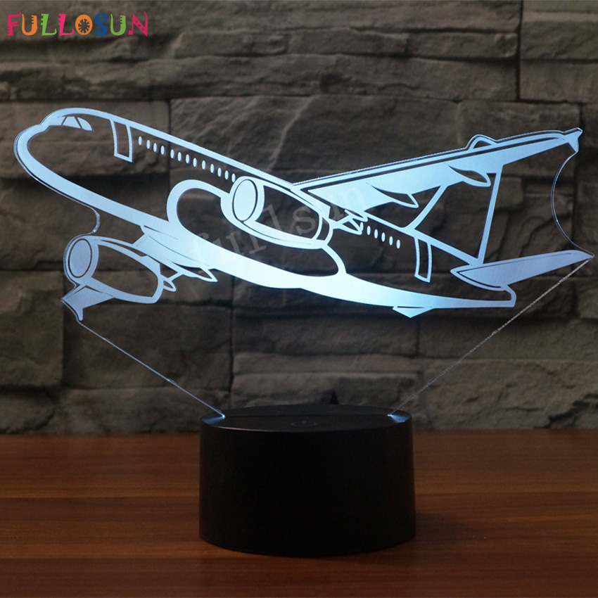 Special Custom for Customer 3D Night Lamp Colorful LED Decoration Lights image