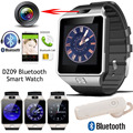 Bluetooth гарнитура + Smart Watch DZ09 для Android Iphone Bluetooth Наручные Часы Smartwatch Телефон Поддержка Нескольких языков WhatsApp