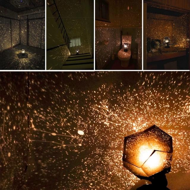 Небесная звезда Астро небо Проекция Космос огни проекционный ночник Звездное романтическое украшение осветительный гаджет Прямая доставка