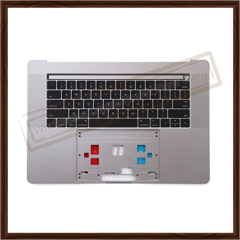 Original NEW A1707 Space Gray/Silver US Topcase Palmrest for Macbook Pro 15 15.4 A1707 Top Case 2016 with Keyboard US Version new silver top case for macbook core m 12 a1534 top case mf865 topcase no keyboard