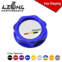 LZONE RACING FREE SHIPPING MUGEN POWER EMBLEM TWIST ON ENGINE OIL FILLER CAP BADGE FOR HONDA