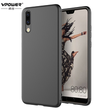 Case For Huawei P20 Lite Pro Back Cover Vpower Ultra Slim Soft Silicone Cases P20/P20 Pro/P20 Phone Covers