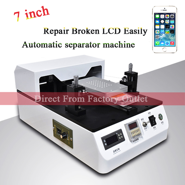 LCD Glass Automatic Separator Separating Machine for 7 inch for iPhone 7 7plus Mobile Phone Screen