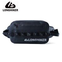 LONGHIKER Outdoor Airtight Waterproof Waist Bag Pouch For Swimming Diving Water Proof Swim River Trekking Waist Bag IPX8