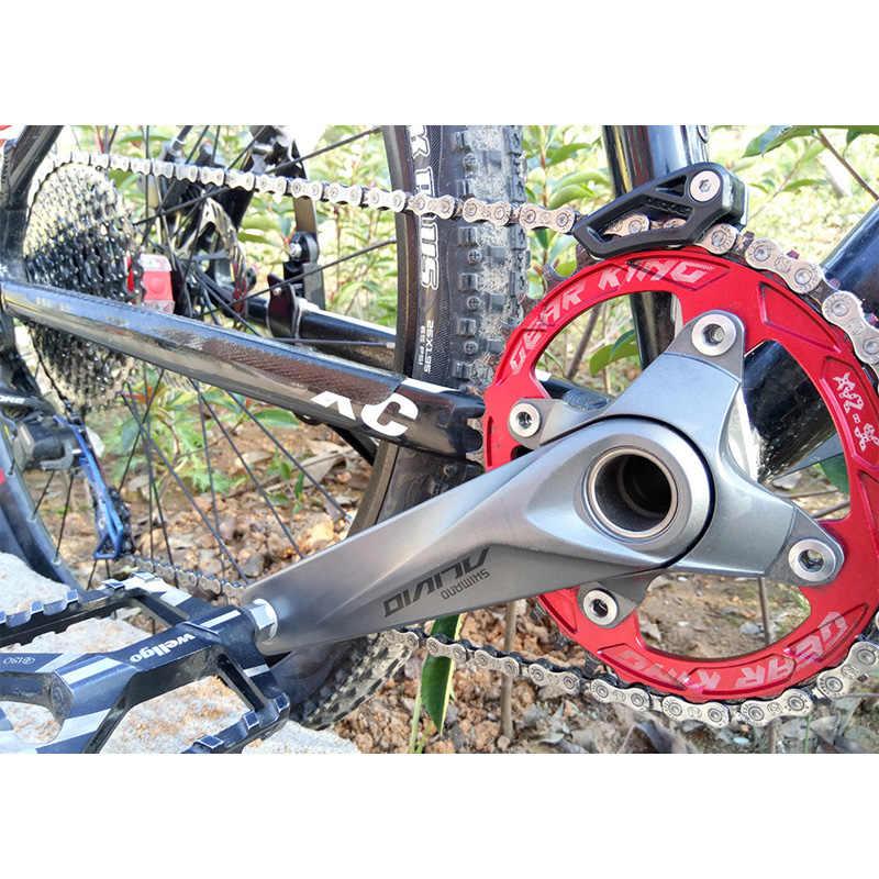 دليل سلسلة الدراجة DECKAS دليل سلسلة الدراجة الجبلية نظام 1X نظام squg 03 squg 05 BB مثبت بتحكم رقمي بالكمبيوتر سرعة واحدة دليل سلسلة تروس ضيقة واسعة