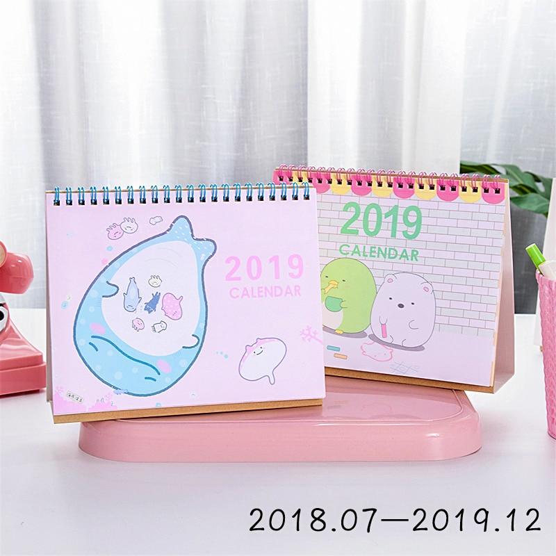 Calendrier Dessin Anime.2 93 Dessin Anime Mignon 2019 Bureau Calendrier Belle Sumikko Gurashi Baleine Calendrier Wallcal Creatif Papier Calendrier Planificateur Livre