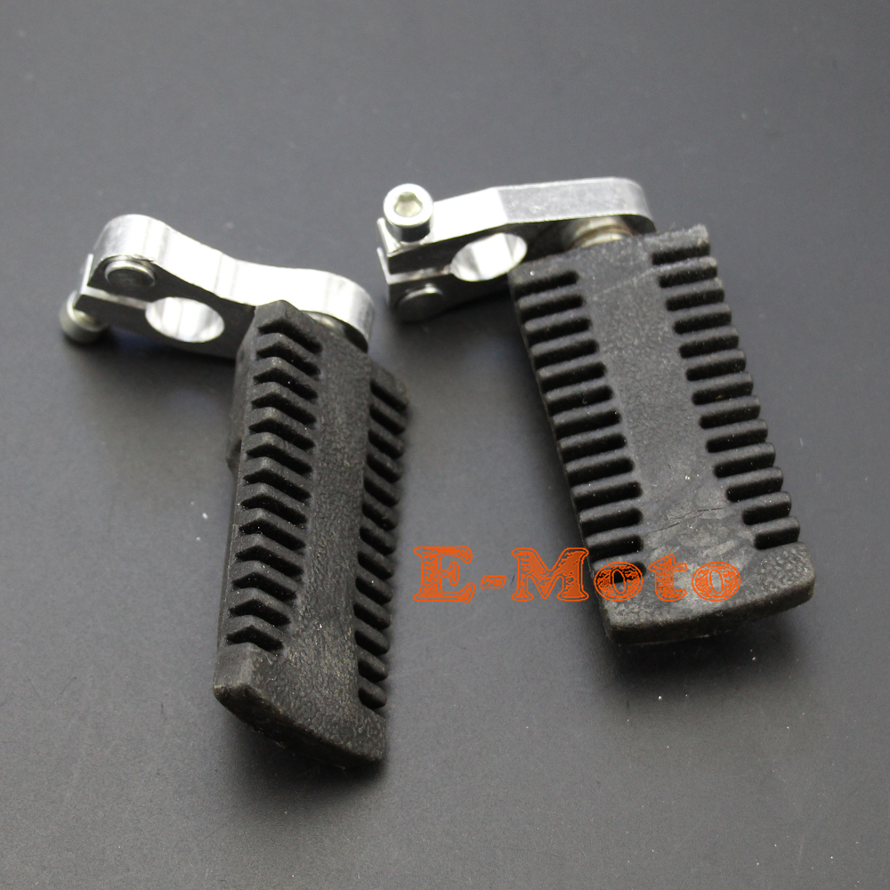 High performance footpegs alloy foot peg 43cc 49cc pocket bike pit bike footpeg