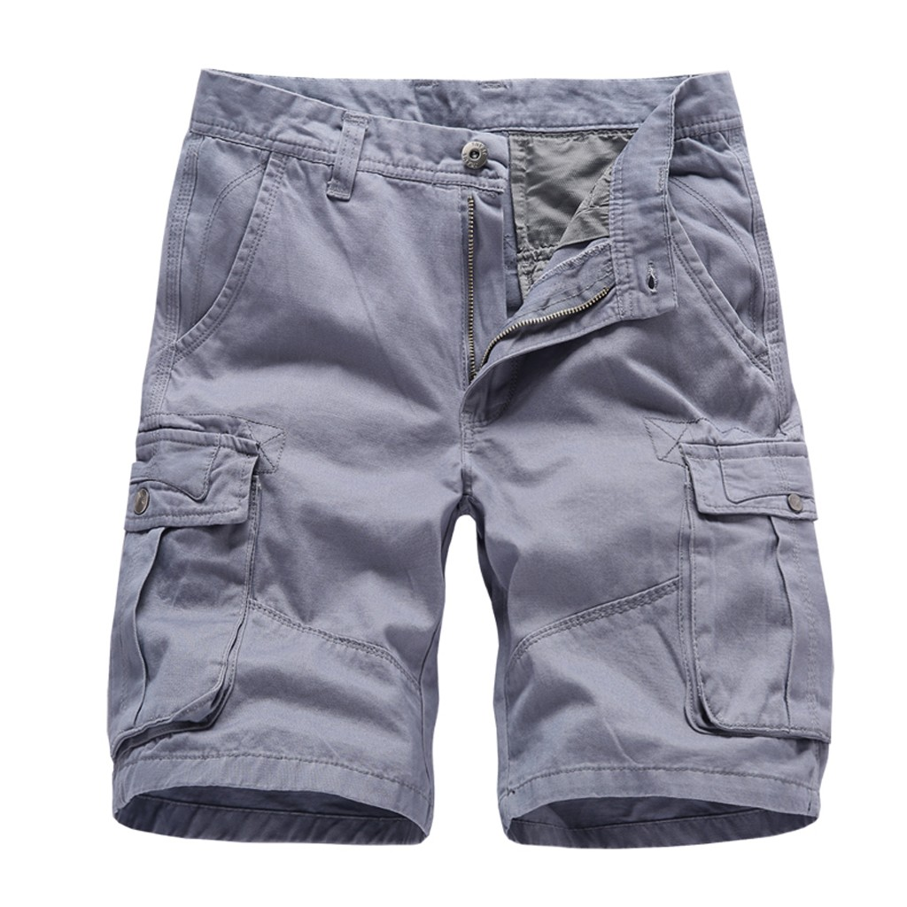 Cargo-Shorts Military Knee-Length Summer-Style Camouflage Plus-Size Casual New Straight