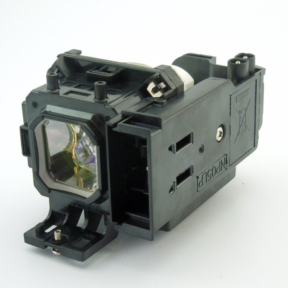 NP05LP / 60002094 Replacement Projector Lamp with Housing for NEC NP901WG / NP905 / NP905G / NP905G2 / VT700 / VT800 / VT800G lh01lp replacement projector lamp with housing for nec ht410 ht510