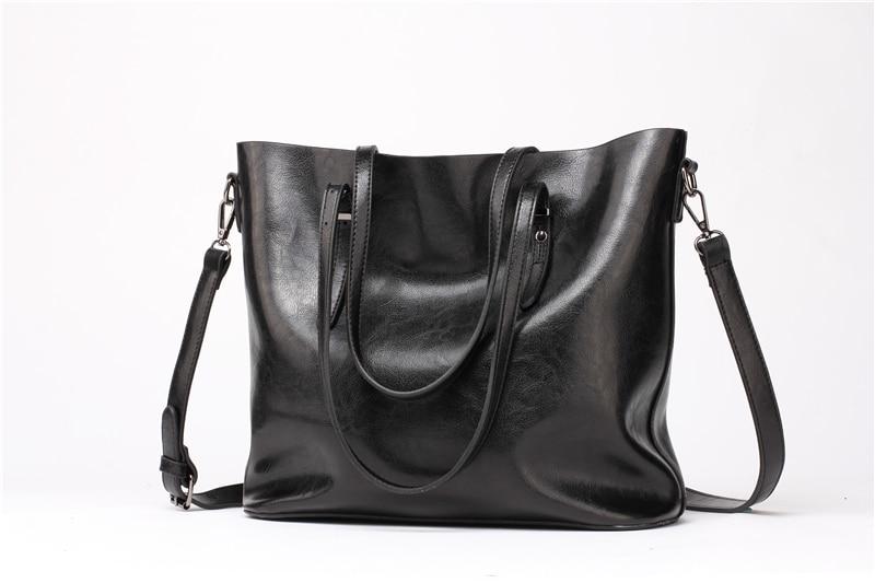 Women Tuff Leather Tote Handbag 6