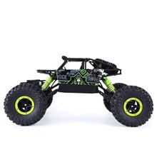 Free Shipping RC Car 4WD Rock Crawlers 4×4 Driving Car Double Motors Drive Bigfoot Car Remote Control Model Off-Road Vehicle Toy