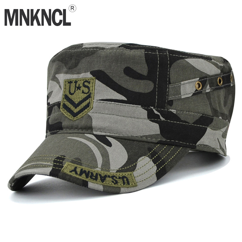 MNKNCL 2018 Newest U.S Camouflage Caps Men  Baseball Army Cap For Men Women Casual  U.S. Army Snapback Hats Bone Adjustable men women coconut palm baseball cap army camo cap baseball casquette camouflage hats for hunting fishing outdoor