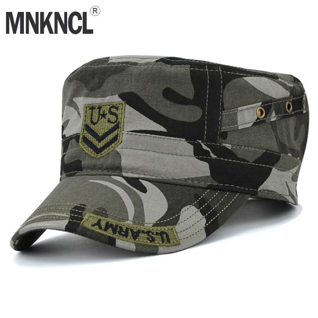 MNKNCL 2018 Terbaru Tentara AS Kamuflase Topi Pria Baseball Cap Untuk Pria  Wanita Kasual US Army 03fbca0fb0