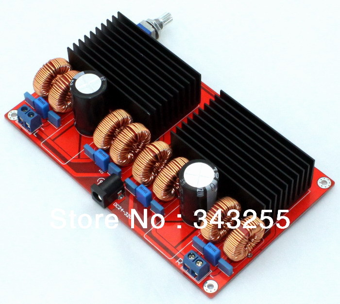 Free-Shipping-Parallel-TDA7498-2-0-power-amplifier-board-200WX200W-D-Class-Amplifier-Board-Can-connect (2)