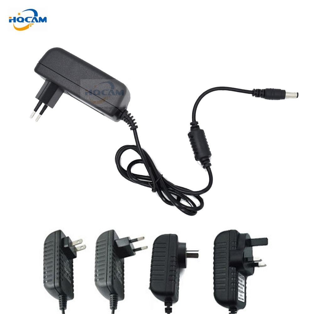 HQCAM Qualified AC 110-240V To DC 12V 2A Power Supply Adapter For CCTV,EU/US/UK/AU Plug