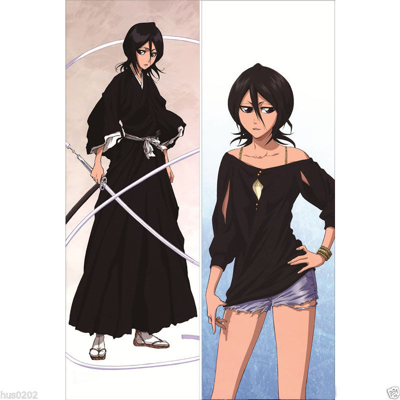 Japan Anime Hugging Body Pillow Case 150 50 Bleach Rukia