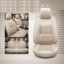 Cubiertas especiales de lujo para asientos de coche, cubiertas delanteras y traseras, para volvo 850 s40 s60 s80 s80l v40 v50 v60 v70 xc60 xc70 xc90 2017 2016 2015