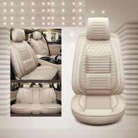 Lino especial de lujo (parte delantera y trasera) cubiertas de asiento de coche para volvo 850 s40 s60 s80 s80l v40 v50 v60 v70 xc60 xc70 xc90 2017 de 2016 a 2015