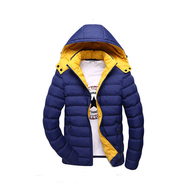 T china cheap wholesale 2016 autumn winter new male thickening keep warm  cotton-padded jacket slim fashion casual outerwear