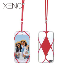 Universal Silicone Cell Phone Lanyard Holder Case