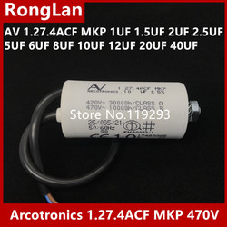 [BELLA] Original Arcotronics 1.27.4ACF MKP 1UF 1,5 UF 2UF 2,5 UF 5UF 6UF 8UF 10UF 12UF 20UF 40UF 5% motor starten kondensatoren