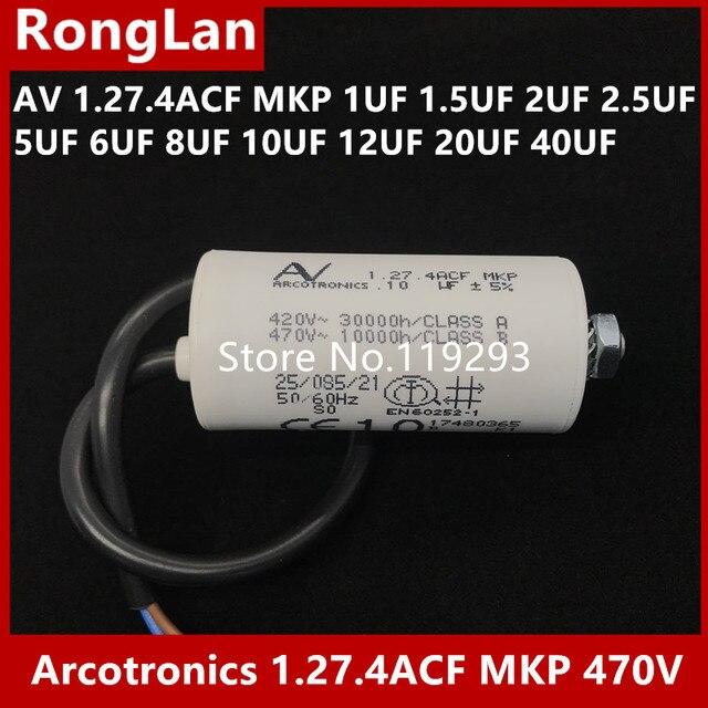 f7a2d7597079 € 113.32 30% de DESCUENTO|[BELLA] Original Arcotronics 1.27.4ACF MKP 1 UF  1,5 UF 2 UF 2,5 UF 5 UF 6 UF 8 uf 10 UF 12 UF 20 UF 40 UF 5% condensadores  ...