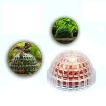 Mineral Stone Suspended Float Moss Ball Fish Tank Aquascape Crystal Red Shrimp Live Plant Cultivation Holder House Decoration(China)