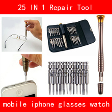 Screwdriver Set 25 in 1 Torx Screwdriver Repair Tool Kit Sets For Mobile Phone Cellphone Tablet PC Glasses Watch Universal Tools mini precision screwdriver set 25 in 1 electronic torx screwdriver opening repair tools kit for iphone camera watch tablet pc