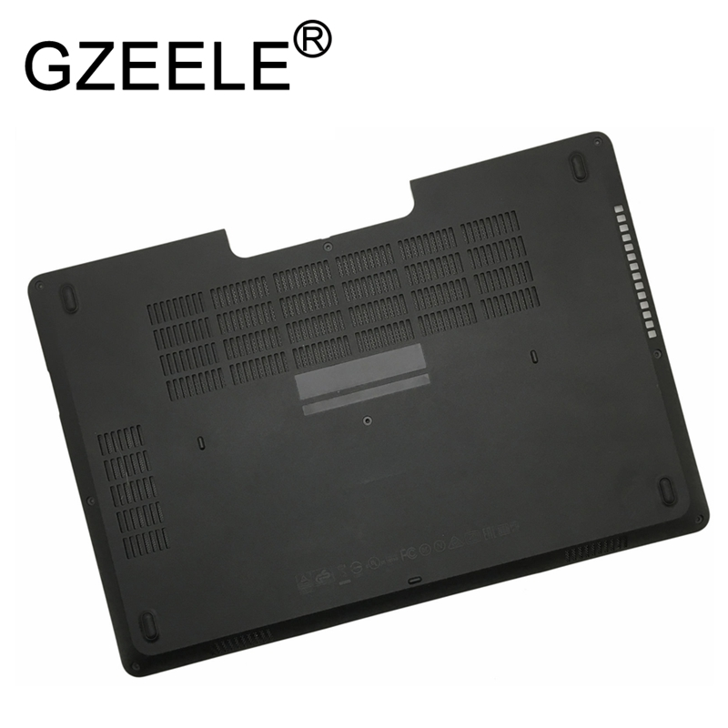 GZEELE New shell for <font><b>Dell</b></font> <font><b>Latitude</b></font> <font><b>E5470</b></font> 5470 Bottom Case door cover E shell TJY1D 0TJY1D Bottom Access Panel Door Cover BLACK image