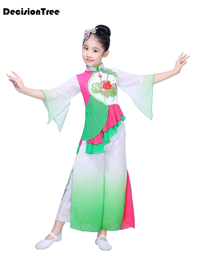 Novelty & Special Use Stage & Dance Wear Children Chinese Traditional Dance Costume Girls Hanfu Dress Chinffon Kids Princess Dance Costume Stage Fairy Dresses Dwy1308