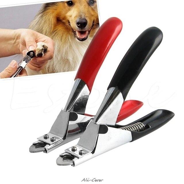 Perro de mascota gato pájaros uñas Kit de garra Clippers tijeras de Trimmer Cutter aseo herramienta de corte para uñas garras