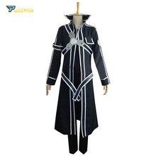 Sword Art Online Kirito Cosplay Costume Custom Made Any Size
