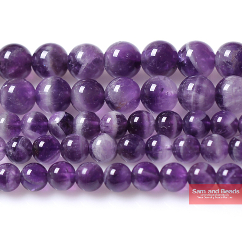 Free Shipping A Quality Natural Stone Purple Amethysts Crystals Round Loose Beads 15 Strand 4 6 8 10 12MM Pick SizeFree Shipping A Quality Natural Stone Purple Amethysts Crystals Round Loose Beads 15 Strand 4 6 8 10 12MM Pick Size